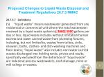 proposed changes to liquid waste disposal and treatment regulations 20 7 3 nmac2