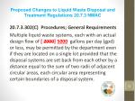 proposed changes to liquid waste disposal and treatment regulations 20 7 3 nmac4
