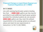 proposed changes to liquid waste disposal and treatment regulations 20 7 3 nmac5