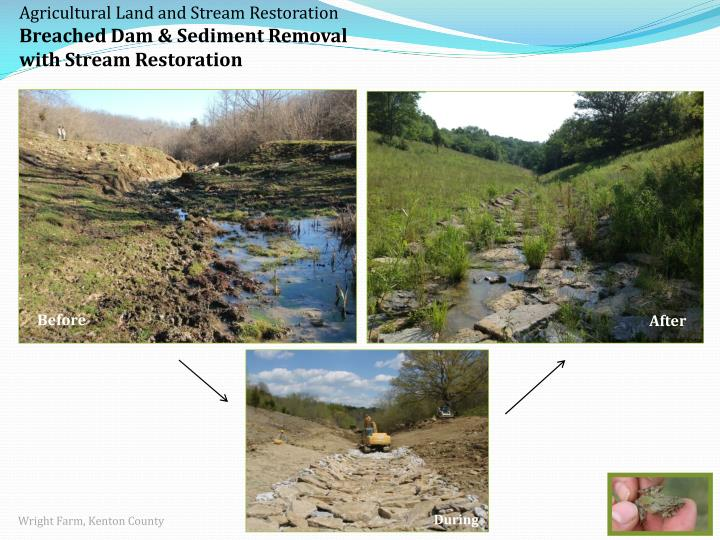 Agricultural Land and Stream Restoration