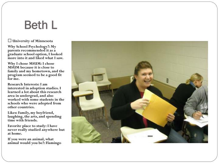 Beth L