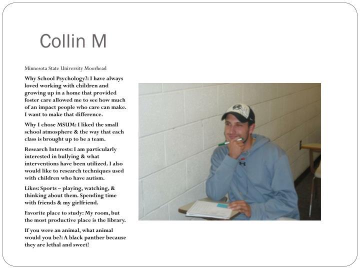 Collin M