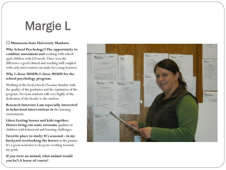 Margie L