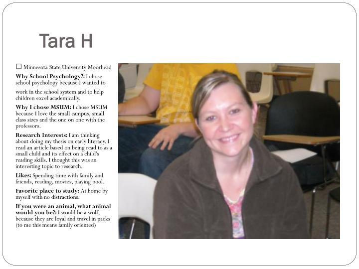 Tara H