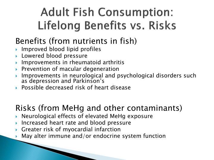 Adult Fish Consumption:
