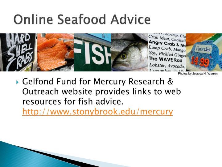 Online Seafood Advice