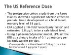 the us reference dose