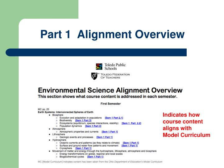 Part 1  Alignment Overview
