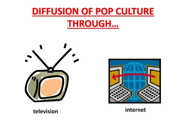 DIFFUSION OF POP CULTURE THROUGH…