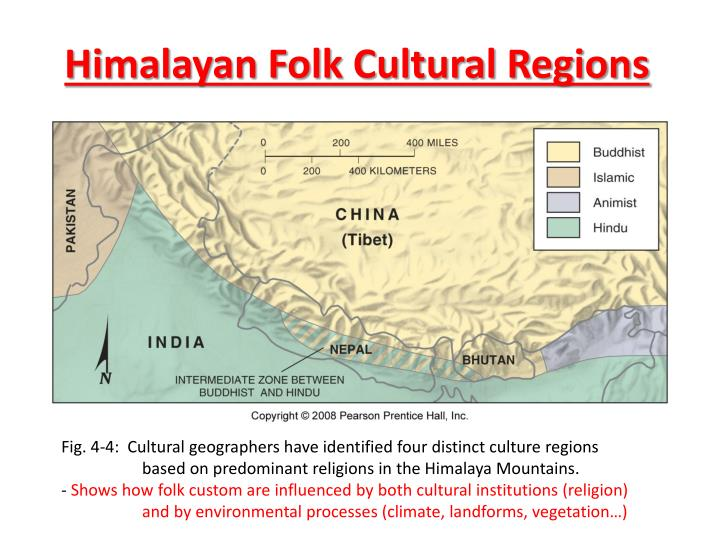 Himalayan Folk Cultural Regions
