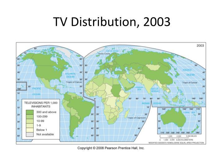 TV Distribution, 2003