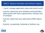 nw2 2 reduce pesticides and fertilizer impacts