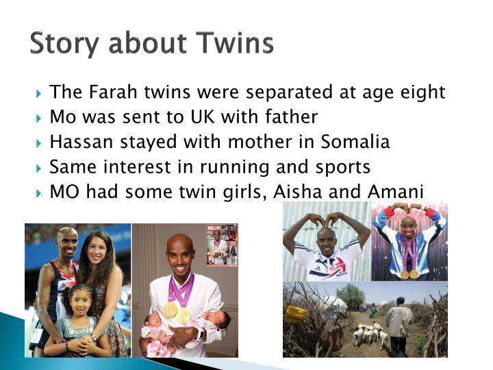 Story about Twins