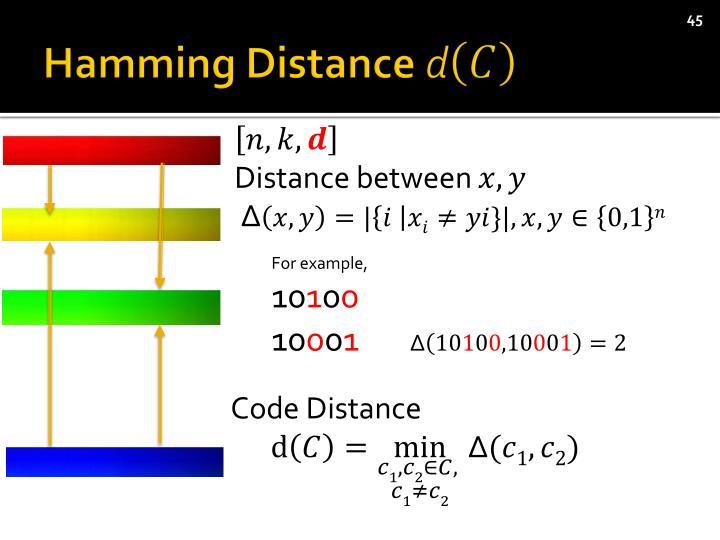 Hamming Distance