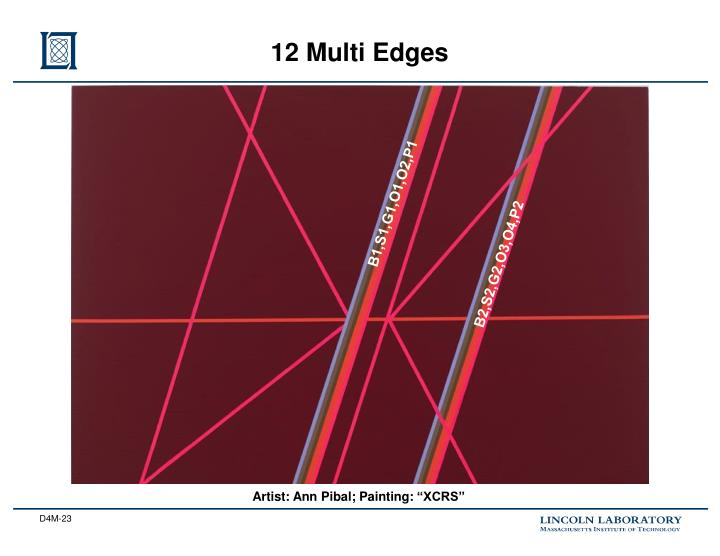 12 Multi Edges