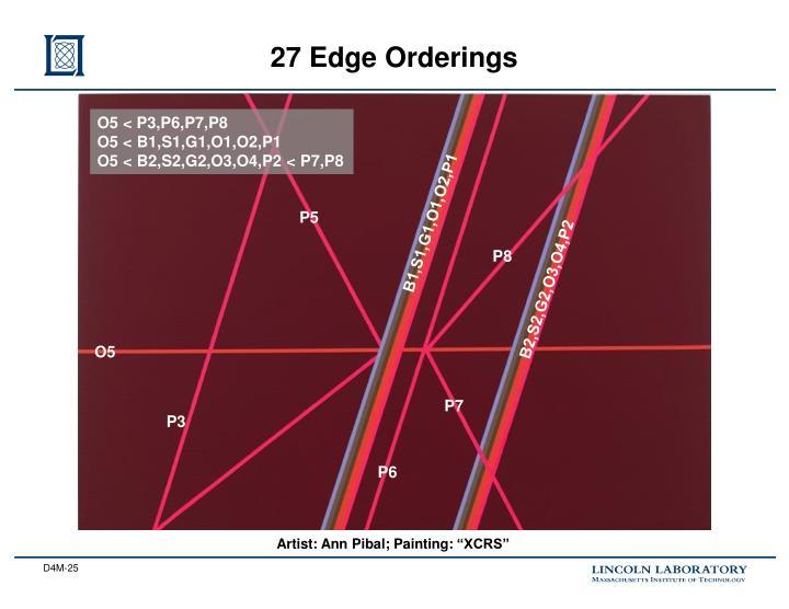 27 Edge Orderings