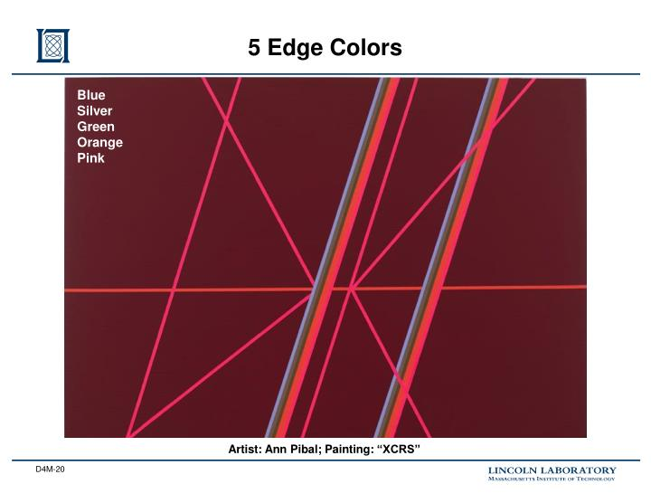 5 Edge Colors