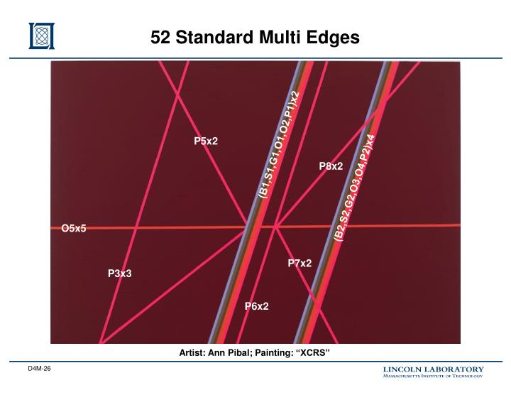 52 Standard Multi Edges