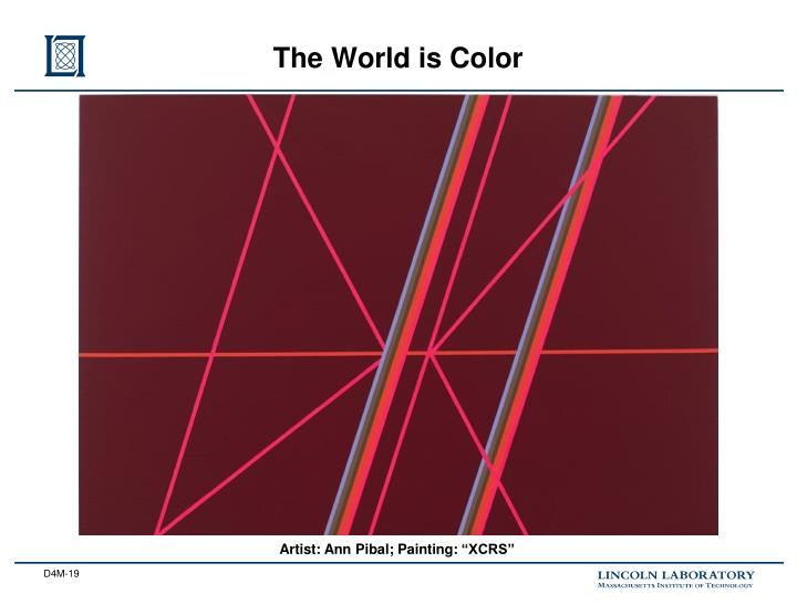 The World is Color