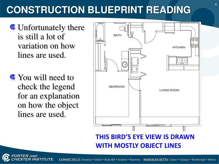 Ppt construction blueprint reading powerpoint for How to read a construction blueprint