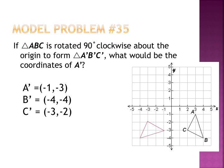 Model Problem #35