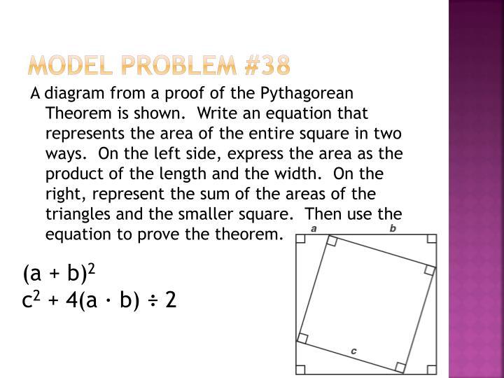 Model Problem #38