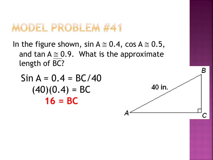 Model Problem #41