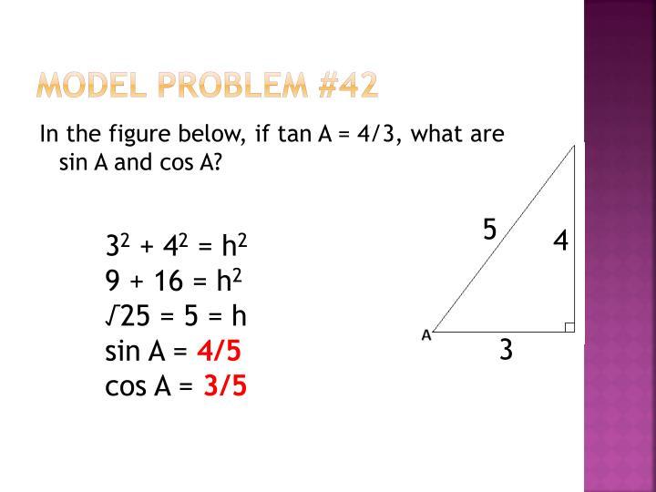 Model Problem #42