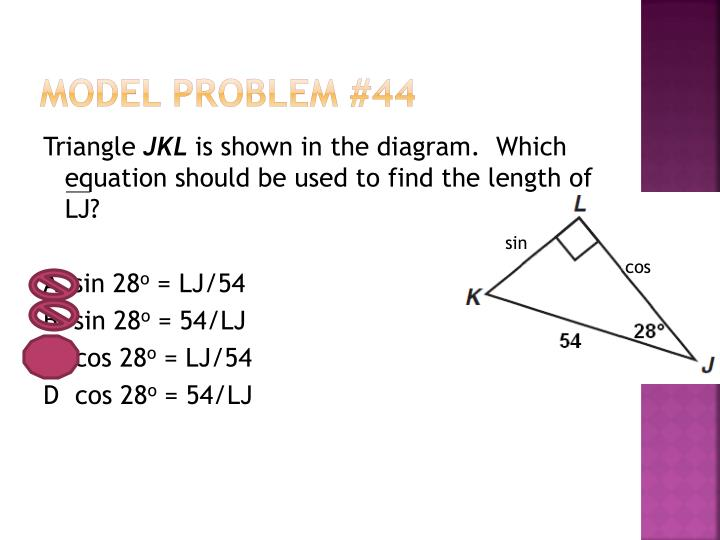Model Problem #44
