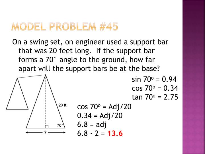 Model Problem #45