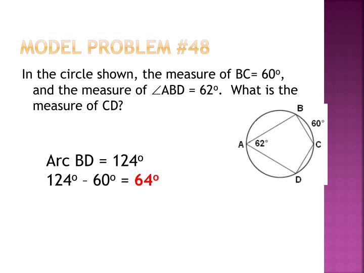 Model Problem #48