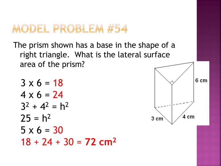 Model Problem #54
