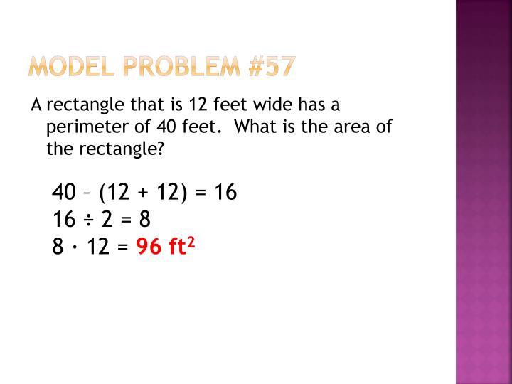 Model Problem #57