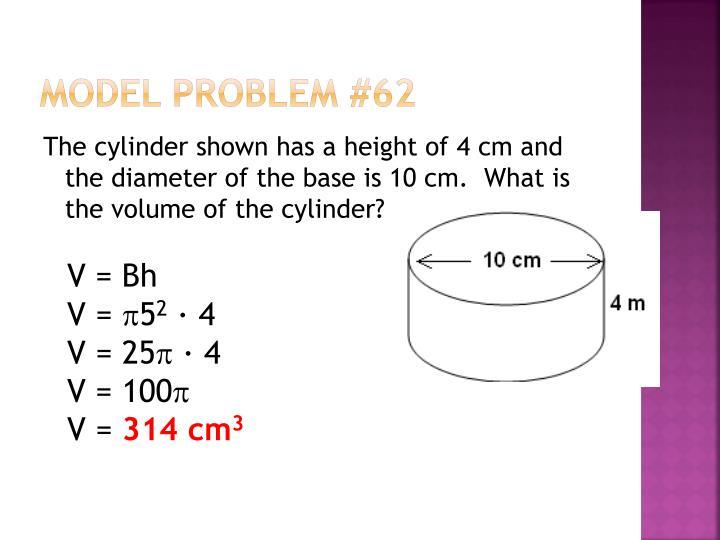 Model Problem #62
