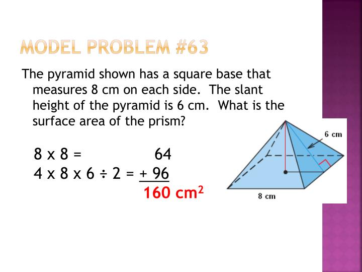 Model Problem #63