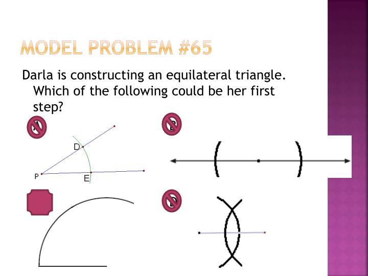 Model Problem #65