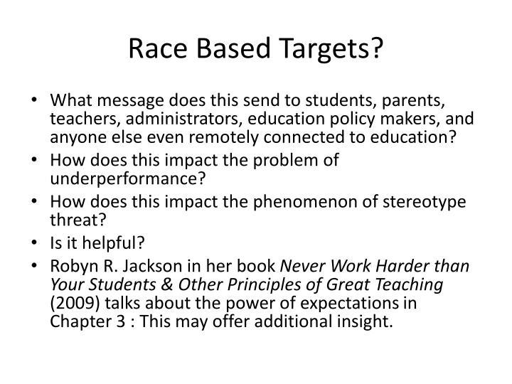 Race Based