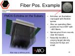 fiber pos example