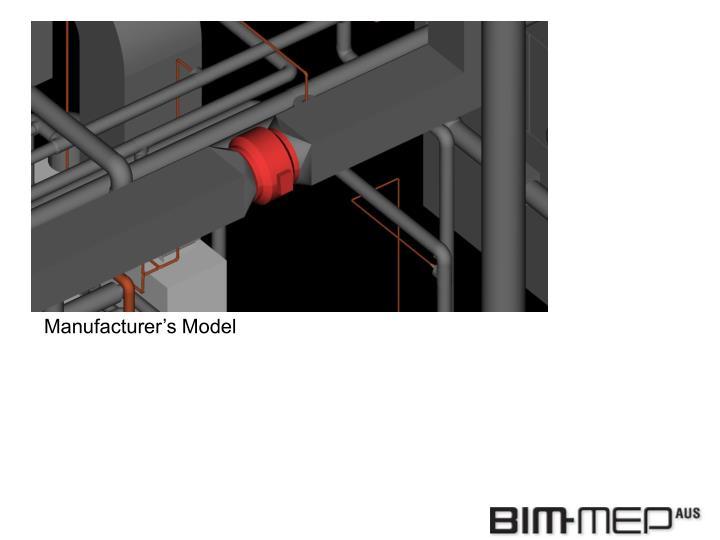 Manufacturer's Model