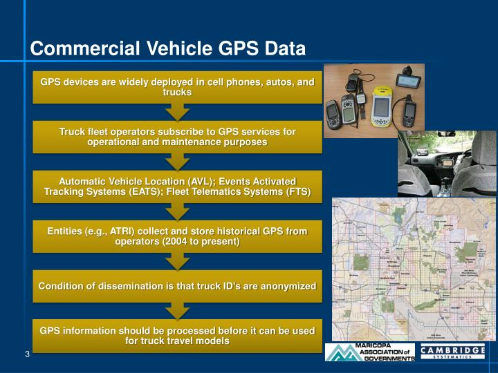 Commercial Vehicle GPS Data