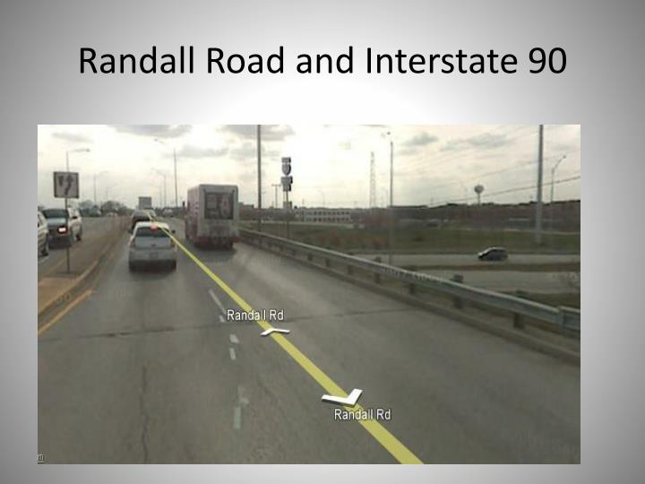Randall Road and Interstate 90