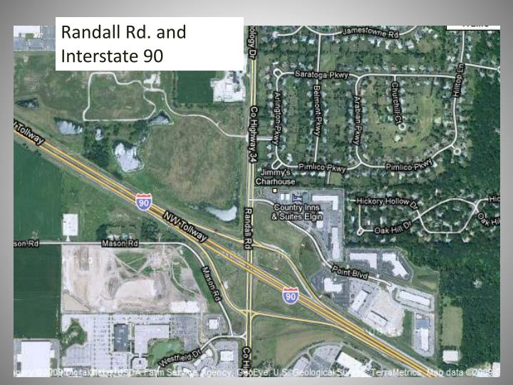 Randall Rd. and Interstate 90