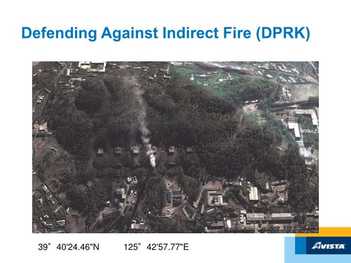 Defending Against Indirect Fire (DPRK)