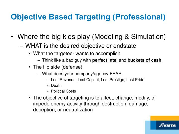 Objective Based Targeting (Professional)