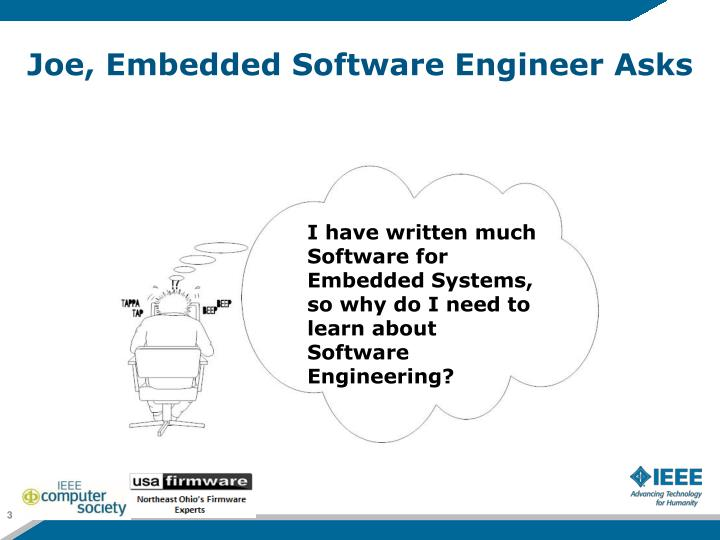 Joe embedded software engineer asks