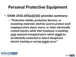 personal protective equipment6