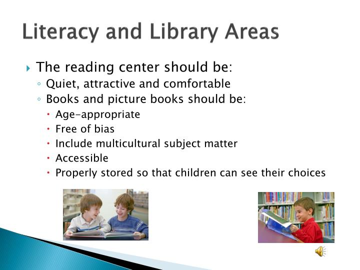 Literacy and Library Areas