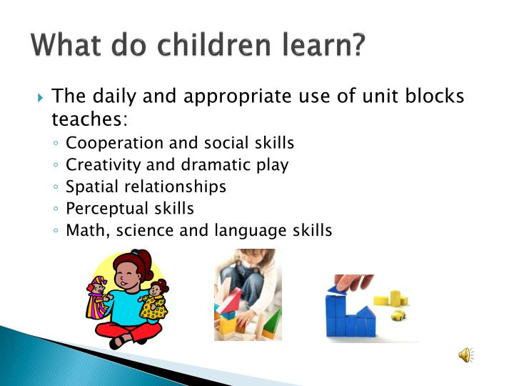 What do children learn?