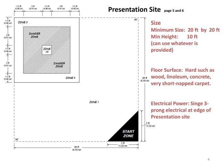 Presentation Site