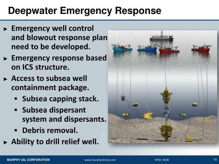 Deepwater Emergency Response